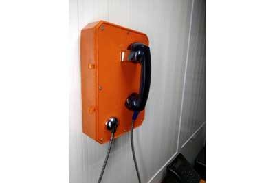 Türgi kliendi telefonisüsteemi on paigaldatud Xianglong G-tüüpi telefonid ja hällid