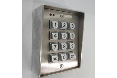 Access control keypad with enclosure