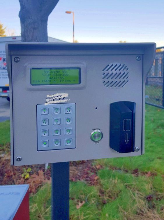 12 Keys Electronic Digital Keypad B661&B515 Installed In Access Control System