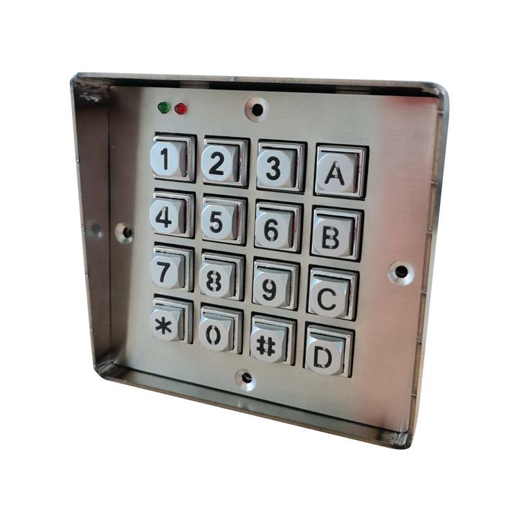Tastatură metalică digitală cu control digital de acces rezistent la intemperii, lansată