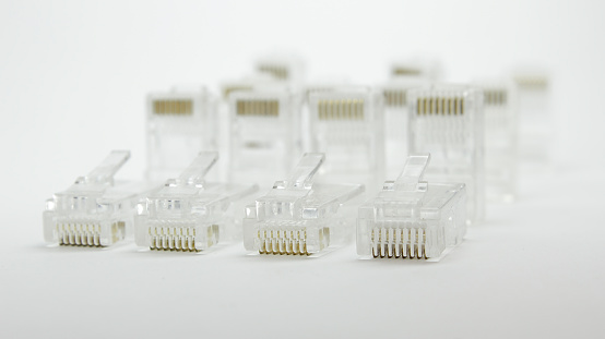 Why is the Registered Jack divided into RJ45, RJ12 and RJ11?