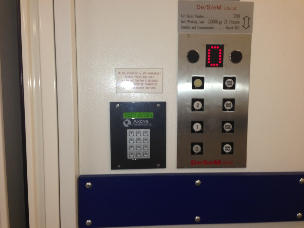 Xianglong Metal 12 Button Keypad In Elevator Control Project