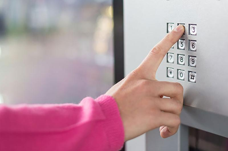 China's security access control market