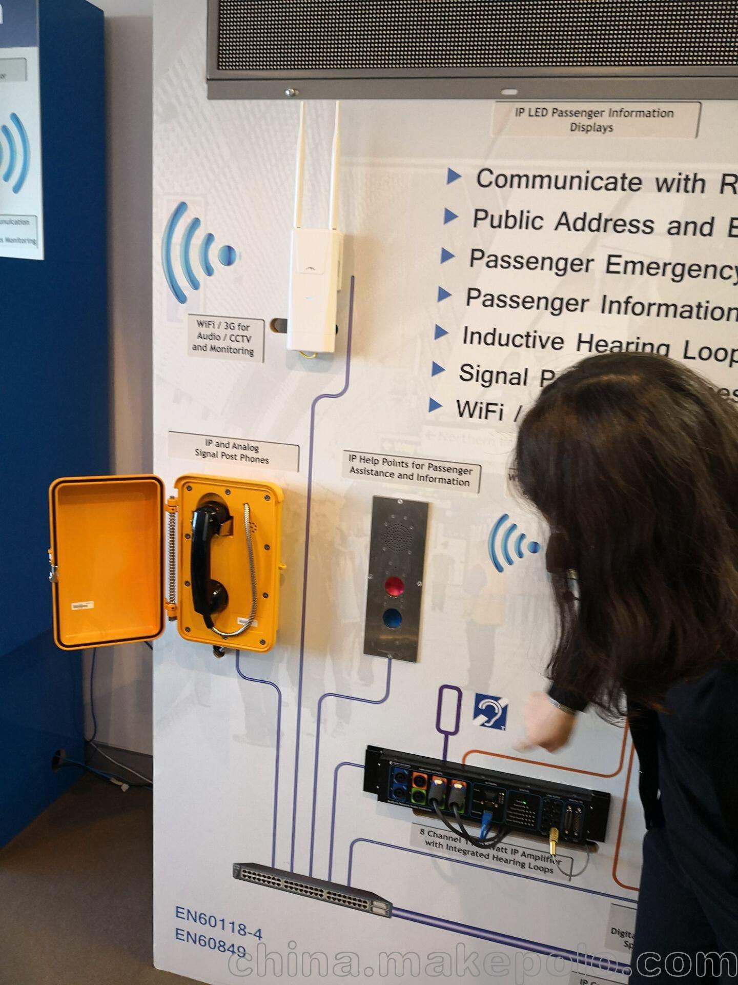 Our Explosion-proof Handset Used In Tunnel Telephone